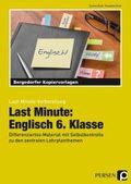Last Minute: Englisch 6. Klasse, m. CD-ROM