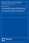 Umwandlungsmaßnahmen im Insolvenzplanverfahren