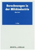 Berechnungen in der Milchindustrie, m. CD-ROM