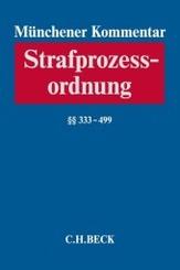 Münchener Kommentar zur Strafprozessordnung  Bd. 3/1:  333-499 StPO