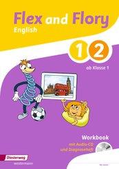 Flex and Flory: Workbook 1/2 mit Schüler-Audio-CD und Diagnoseheft
