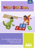 Welt der Zahl - Inklusionsmaterialien: Schriftliches Addieren und Subtrahieren bis 1000, Zehner-Einmaleins; .E3