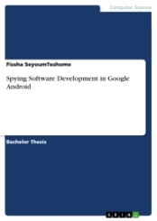 Spying Software Development in Google Android