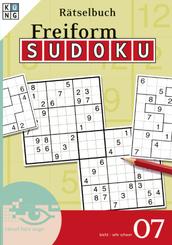 Freiform-Sudoku Rätselbuch - Bd.7