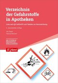 Verzeichnis der Gefahrstoffe in Apotheken, m. 1 CD-ROM