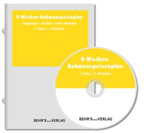 8-Wochen-Rahmenspeisenplan, m. CD-ROM