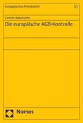 Die europäische AGB-Kontrolle