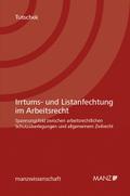 Irrtums- und Listenanfechtung im Arbeitsrecht