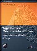 AnwaltFormulare Mandanteninformationen, m. CD-ROM