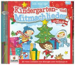 Die besten Kindergarten- und Mitmachlieder - Weihnachten, 1 Audio-CD - Vol.7
