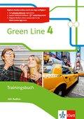Green Line, Bundesausgabe ab 2014: 8. Klasse, Trainingsbuch mit Audio-CD; .4