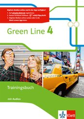Green Line, Bundesausgabe ab 2014: 8. Klasse, Trainingsbuch mit Audio-CD; .4