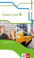 Green Line, Bundesausgabe ab 2014: 8. Klasse, Vokabellernheft; Bd.4