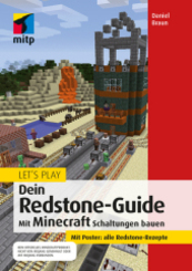 Let's Play. Dein Redstone-Guide, m. Poster