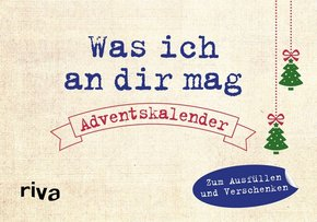 Was ich an dir mag - Adventskalender
