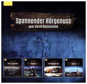 ADAC Hörbuch-Edition Regionalkrimis 2017, 10 MP3-CDs