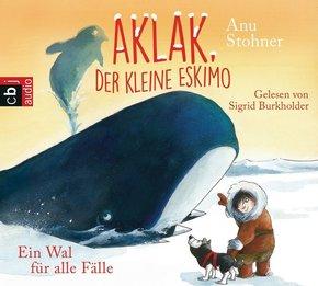 Aklak, der kleine Eskimo - Ein Wal für alle Fälle, 1 Audio-CD