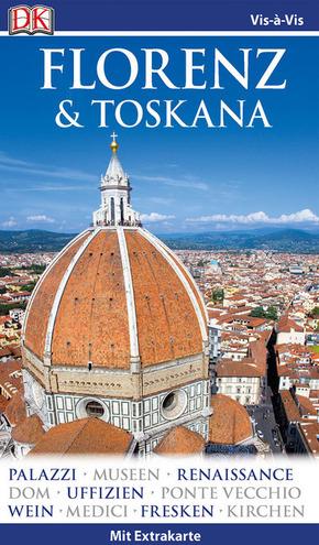 Vis-à-Vis Reiseführer Florenz & Toskana, m. 1 Karte