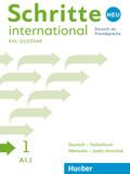 Schritte international Neu - Deutsch als Fremdsprache: Glossar XXL Deutsch-Tschechisch - Nemecko-ceský slovnícek; .1