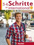 Schritte international Neu - Deutsch als Fremdsprache: Arbeitsbuch, m. 2 Audio-CDs; .3+4