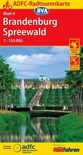 ADFC-Radtourenkarte Brandenburg, Spreewald