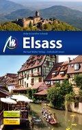 Elsass Reiseführer, m. 1 Karte
