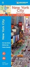 Michelin Karte New York City: Manhattan