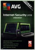AVG Internet Security unbegrenzt 2018, 1 DVD-ROM