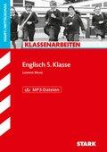 Englisch 5. Klasse, Haupt-/Mittelschule, m. MP3-CD