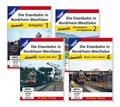 Die Eisenbahn in Nordrhein-Wesstfalen damals, 4 DVDs - Tl.1-4