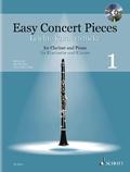 Easy Concert Pieces, Klarinette und Klavier, m. Audio-CD - Bd.1