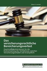 Das versicherungsrechtliche Bereicherungsverbot