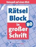 Rätselblock in großer Schrift - Bd.80