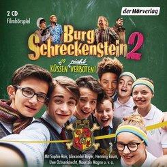 Burg Schreckenstein 2 -  Küssen (nicht) verboten, 2 Audio-CDs