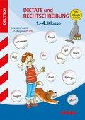 Sammelband Grundschule - Deutsch Diktate und Rechtschreibung 1.-4. Klasse mit MP3-CD