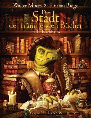 Die Stadt der Träumenden Bücher (Comic) - Buchhaim - Bd.1