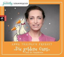 Eltern family Lieblingsmärchen - Die goldene Gans und die Gänsehirtin, 1 Audio-CD