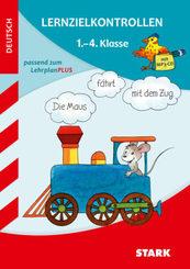 Lernzielkontrollen Deutsch 1.-4. Klasse, m. Audio-CD, MP3