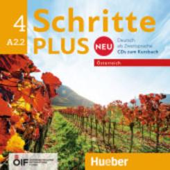 Schritte plus Neu - Deutsch als Zweitsprache, Ausgabe Österreich: A2.2 - 2 Audio-CDs zum Kursbuch; .4
