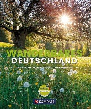 Wanderbildband Wanderbares Deutschland -  Mehr als 7500 km Wandern auf zertifizierten Qualitätswegen in Deutschland