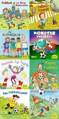 Pixi Bücher: Pixi-Buch 2287-2294 (Fußballspaß mit Pixi); Serie.252 (64 Expl. (8 Titel))