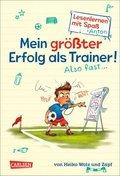 Antons Fußball-Tagebuch - Mein größter Erfolg als Trainer! Also fast ...