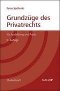 Grundzüge des Privatrechts (f. Österreich)