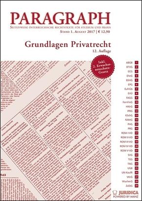 Paragraph: Grundlagen Privatrecht (f. Österreich)