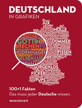 Baedeker 100+1 Fakten. Deutschland in Grafiken