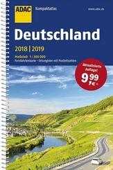 ADAC Kompaktatlas Deutschland 2018/2019 1:300 000