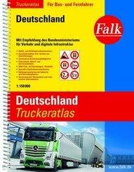 Falk Truckeratlas Deutschland
