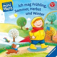Ich mag Frühling, Sommer, Herbst und Winter - ministeps