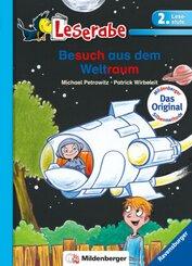 Besuch aus dem Weltraum - Leserabe 2. Klasse - Erstlesebuch für Kinder ab 7 Jahren