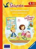 Schulabenteuer zum Lesenlernen - Leserabe 1. Klasse - Erstlesebuch für Kinder ab 6 Jahren